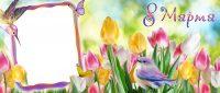 Шаблоны на кружки к 8 марта