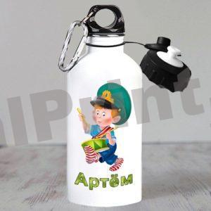 Именные спортивные бутылки для воды, купить спортивную бутылку, бутылка для воды именная, бутылки для воды с логотипом, бутылка с 23 февраля, детская бутылка для воды
