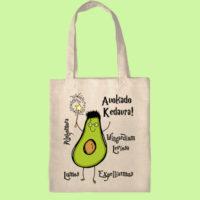 экосумка, экоавоська, сумка шоппер с принтом, сумка с авокадо, авокадокедавра, сумка гарри поттер