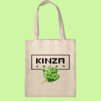 экосумка, экоавоська, сумка шоппер с принтом, кензо сумка, кинза прикольный принт