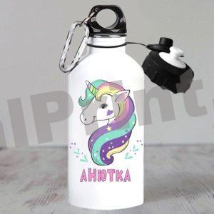 Спортивная бутылка с единорогом, картинки для девочек единорог