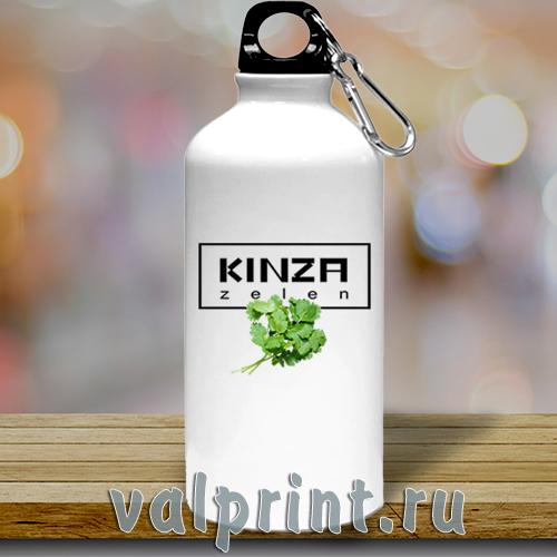 Спортивная бутылка для воды «Кинза»